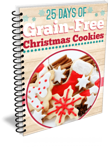 25 Days of Grain-Free Christmas Cookies Cookbook