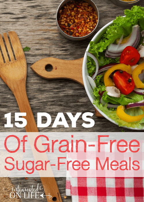 15 Days Of Grain-Free Meals