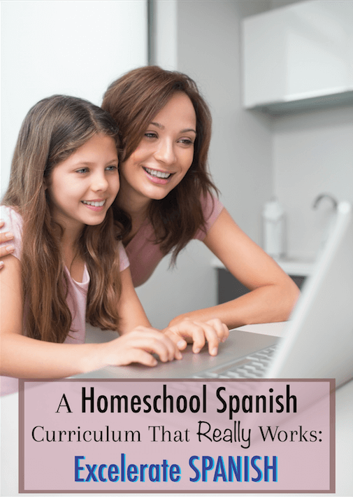 Excelerate Spanish: This is an awesome Spanish curriculum! Everything you need for your homeschool or homeschool co-op.