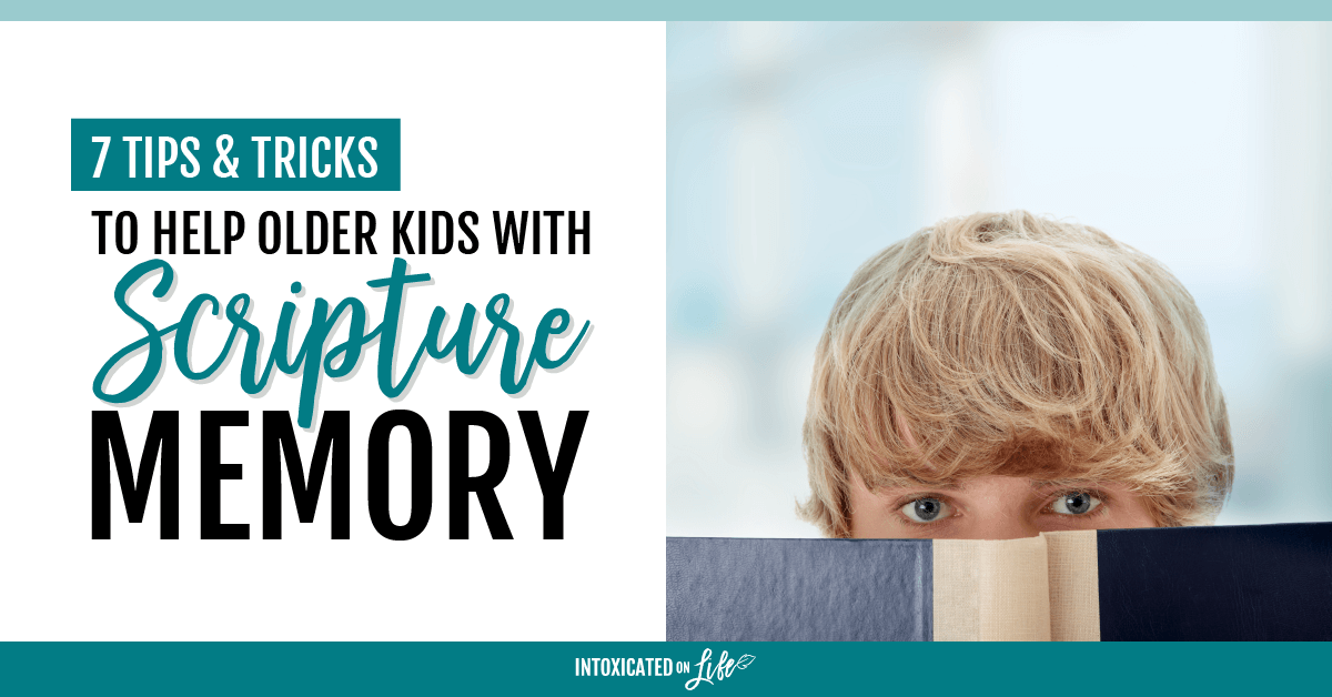 Tricks to Help Older Kids with Scripture Memory