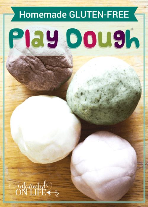 Homemade Gluten Free Play Dough