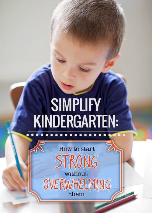 Simplify Kindergarten