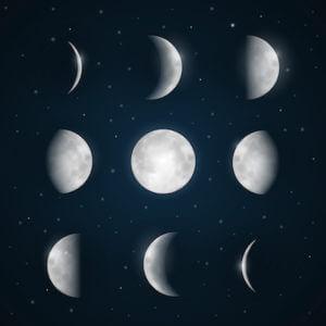 moon smaller