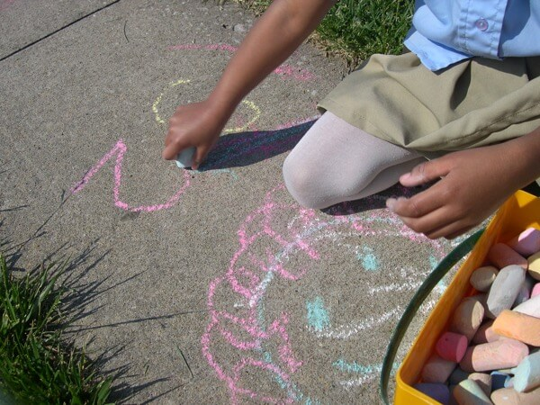 13 Fun, Outdoor Activities to Develop Handwriting Skills