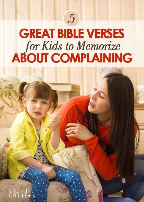 5 Great Bible Verses About Complaining