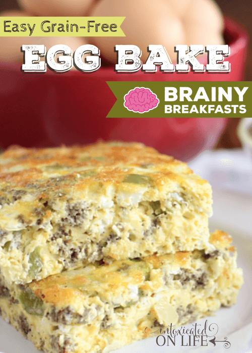Easy Grain Free Egg Bake - Recipe