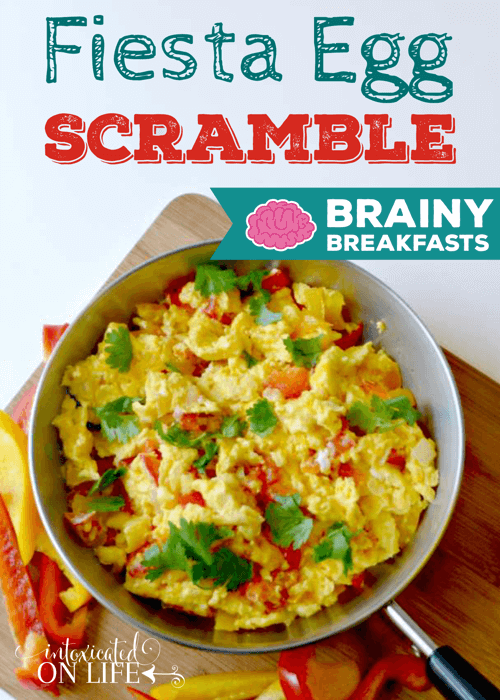 Fiesta Egg Scramble Brainy Breakfasts