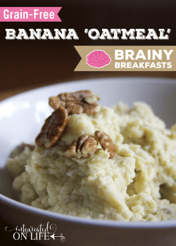 Grain-Free Banana Oatmeal