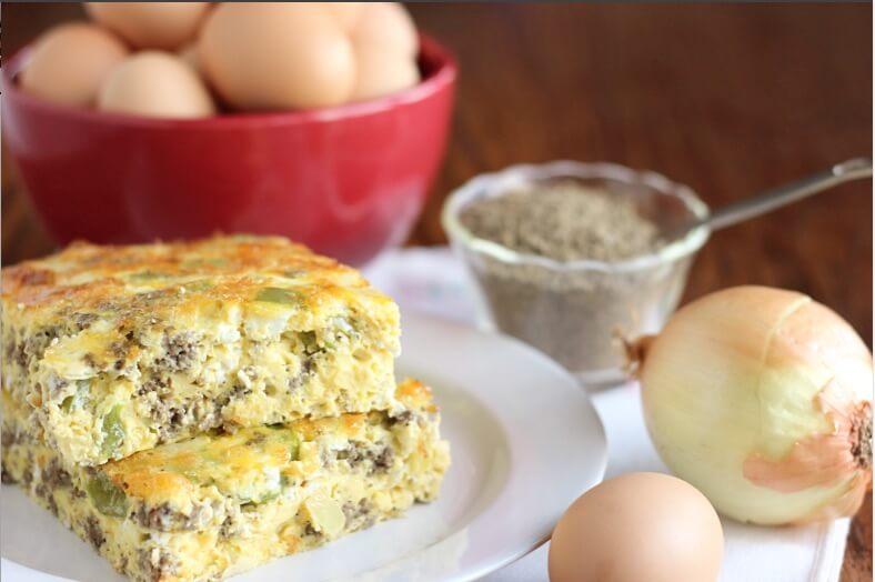 Easy Grain Free Egg Bake