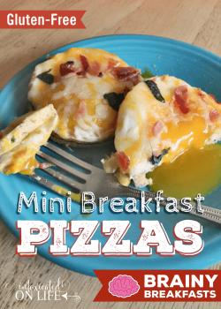 Gluten-Free Mini Breakfast Pizzas