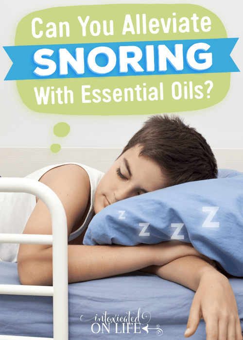 Can You Alleviate Snoring With Essential Oils