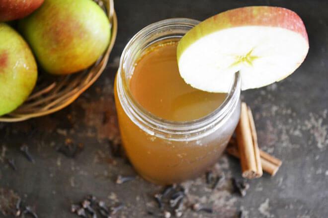 Spiced Apple Kombucha