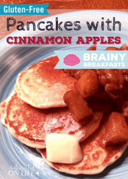 Gluten-Free Pancakes with Cinnamon Apples