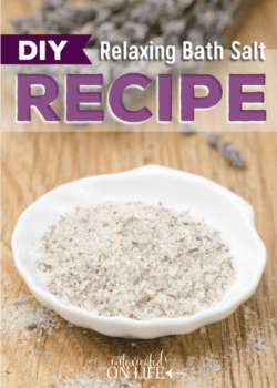 Relaxing Bath Salt Recipe