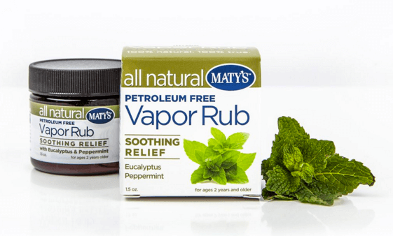 Maty's All Natural Vapor Rub (petroleum-free)