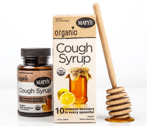 Maty's Organic Cough Syrup