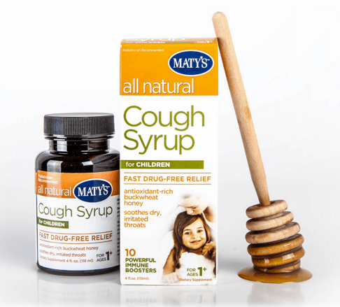Maty's All Natural Cough Syrup