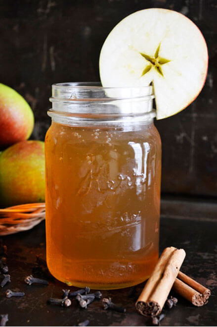 Spiced Apple Kombucha Recipe