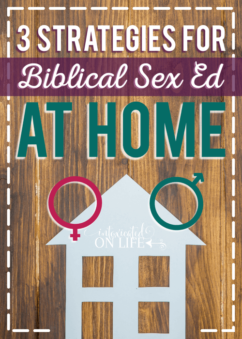 3 Strategies For Biblical Sex Ed At Home