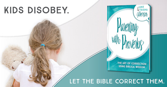 Using proverbs to correct our kids