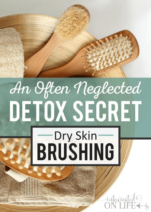 An Often Neglected Detox Secret Dry Skin Brushing