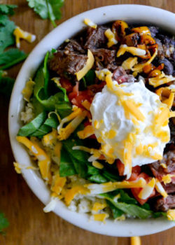 Love burritos? Here's everything you need to make a delicious, grain-free Chipotle-style burrito bowl in the comfort of your own kitchen!
