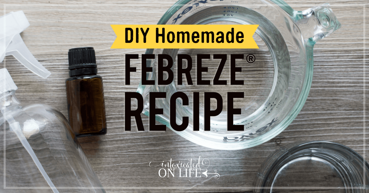 DIY Homemade Febreze® Recipe