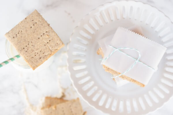 Gluten-Free Graham Crackers Recipe (with a sugar-free option!)