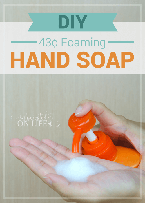 DIY43cent Foaming Hand Soap