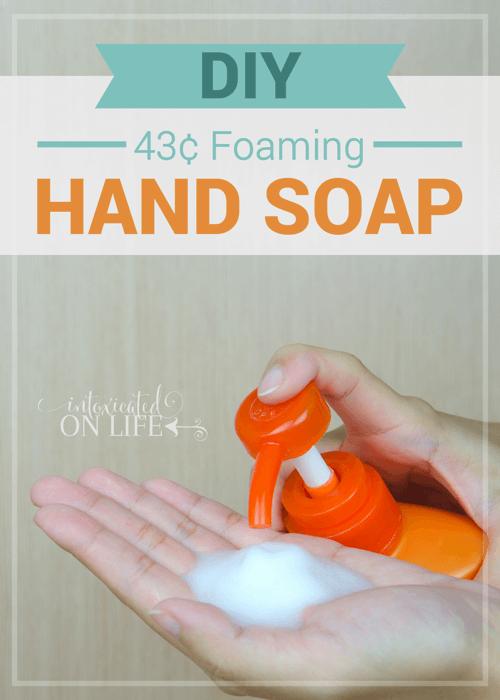 DIY43cent Foaming Hand Soap