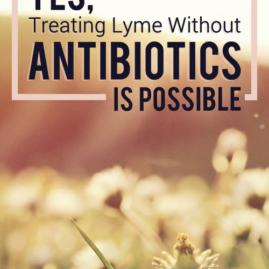 yestreatinglymewithoutantibioticsispossible