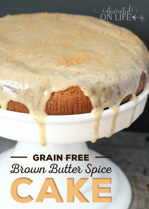 Grain Free Brown Butter Spice Cake