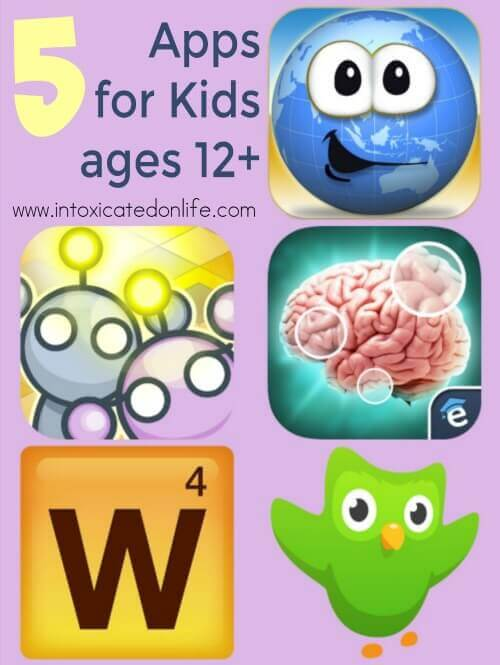 5 No-Guilt Kids Apps for Ages 12 and Up