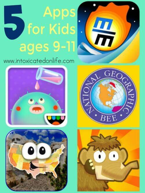 5 No-Guilt Kids Apps for Ages 9-11