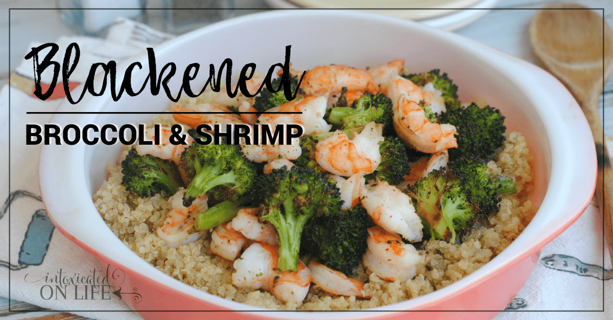 Blackened Broccoli Shrimp