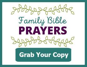 Family Prayer Cards