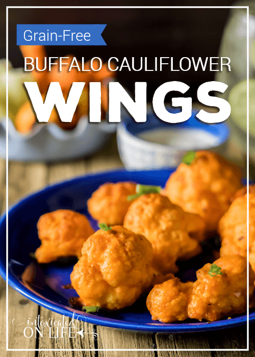 Grain Free Buffalo Cauliflower Wings