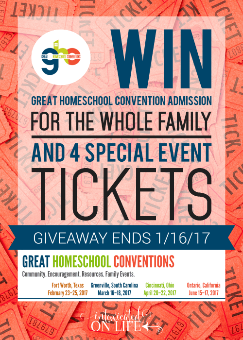 Homeschool Convention Tickets Giveaway