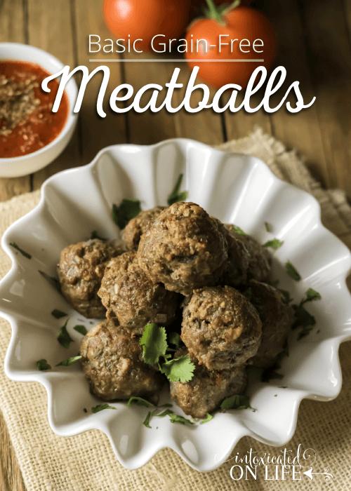 Basic Grain-Free Meatballs