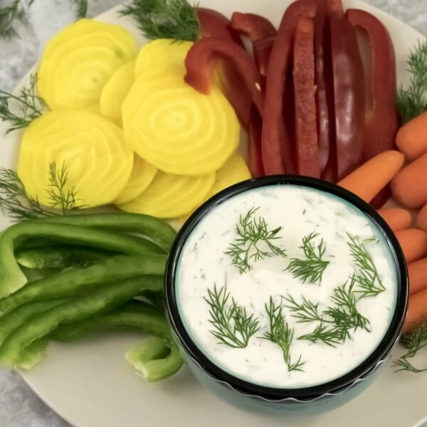 Dill Dip Square