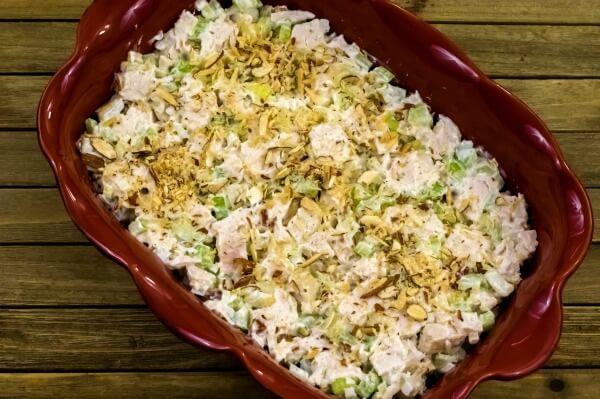 Easy Hot Chicken Salad