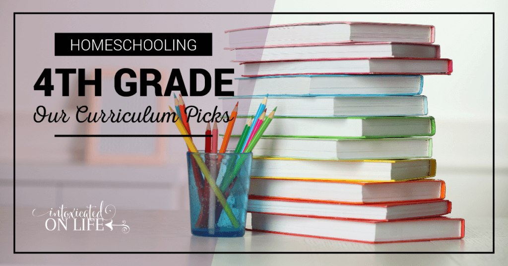 Home Schooling 4th Grade Our Curriculum Picks FB