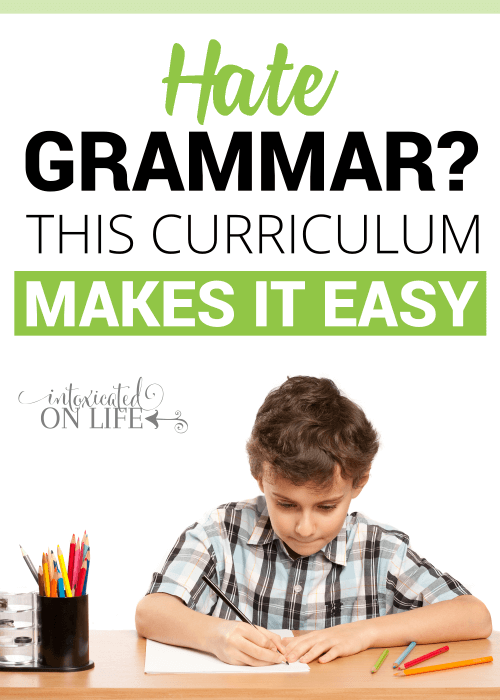 Hate Grammar This Curriculum Makes It Easy