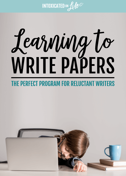 Learning To Write Papers The Perfect Program For Reluctant Writers
