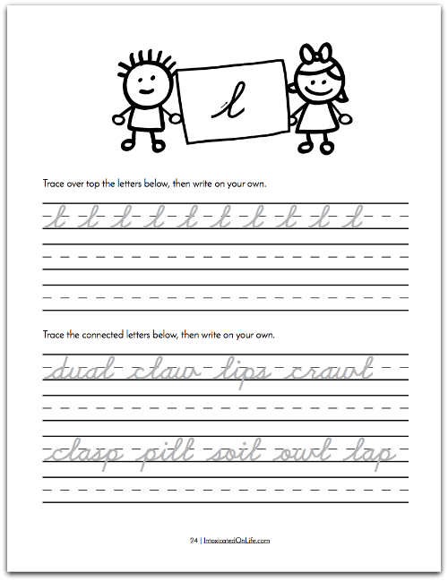 How To Teach Cursive Writing: Cursive Creations continue to practice previously learned letters