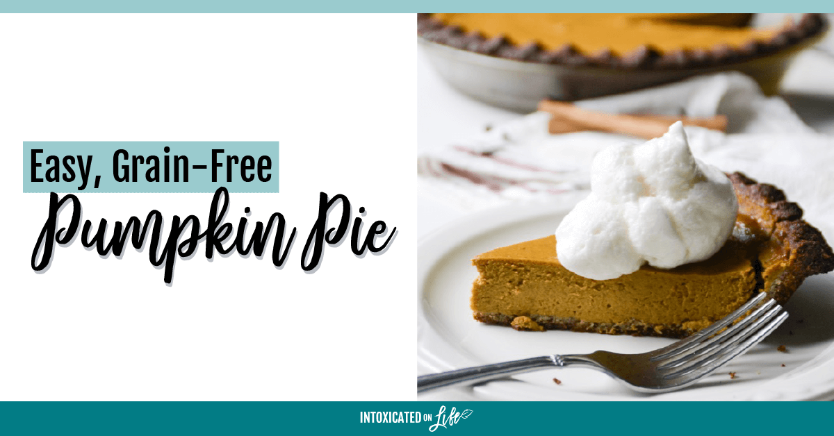 Easy Grain Free Pumpkin Pie