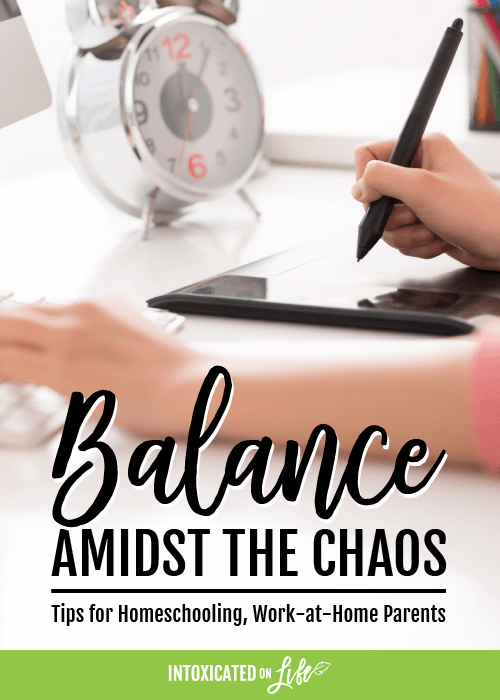 Balance Amidst The Chaos