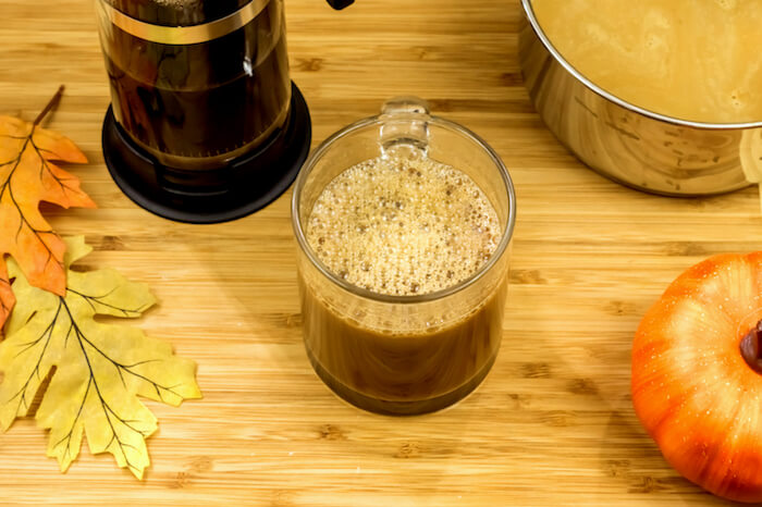 Paleo Pumpkin Spice Latte Step