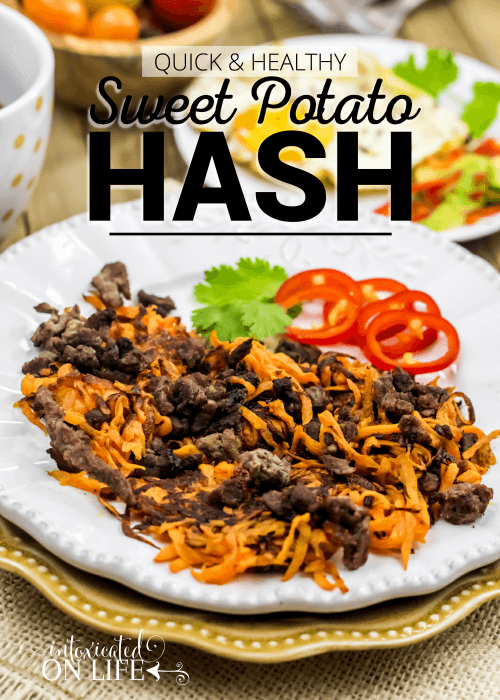 Quick And Healthy Sweet Potato Hash