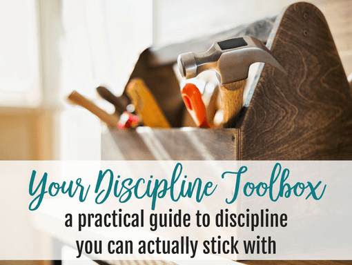 Your Discipline Toolbox